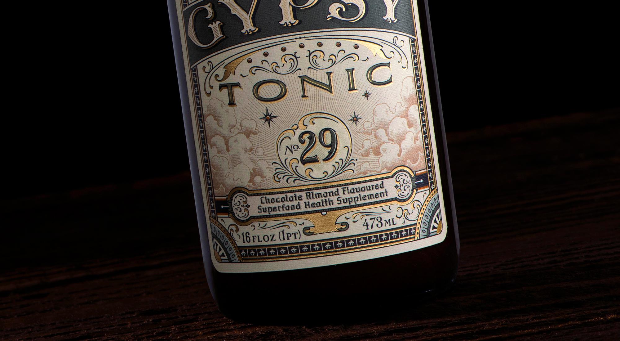 Gypsy Tonic_Close up label bottom