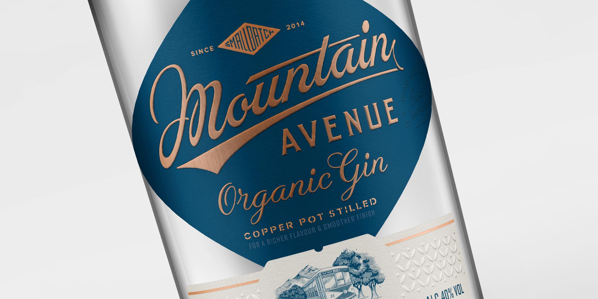 Organic Gin Mountain Avenue