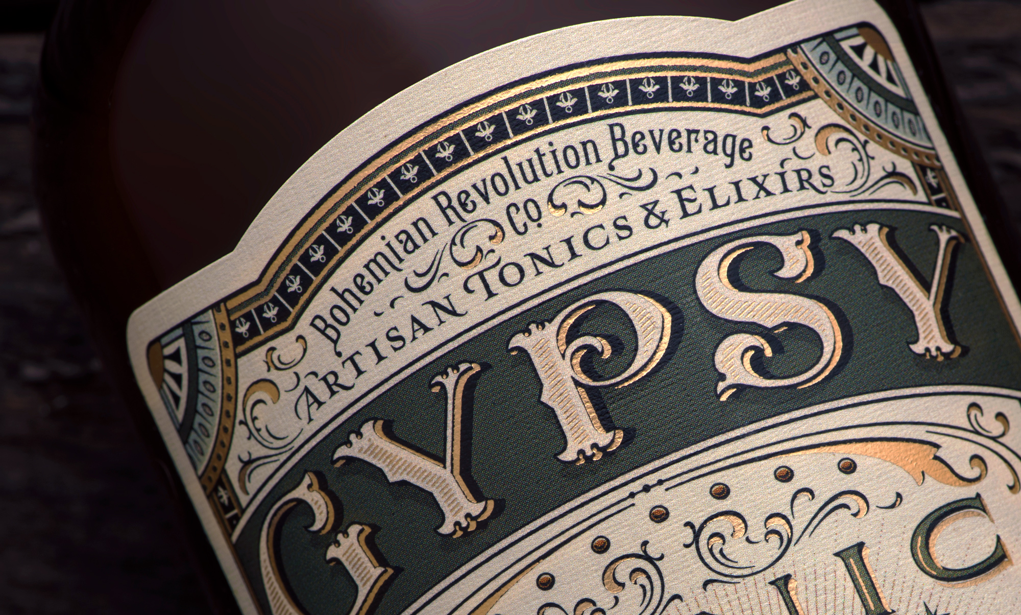 Gypsy Tonic_Close up label