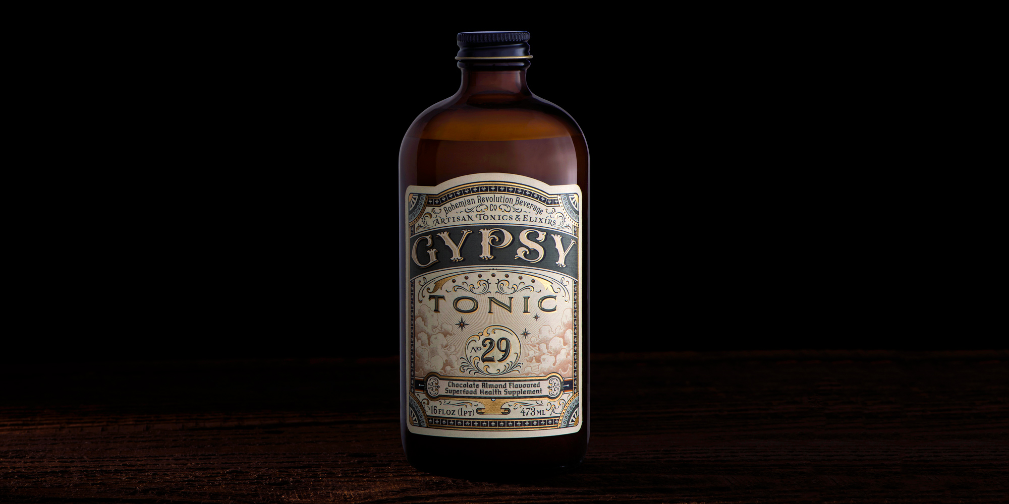 Gypsy Tonic Package Design