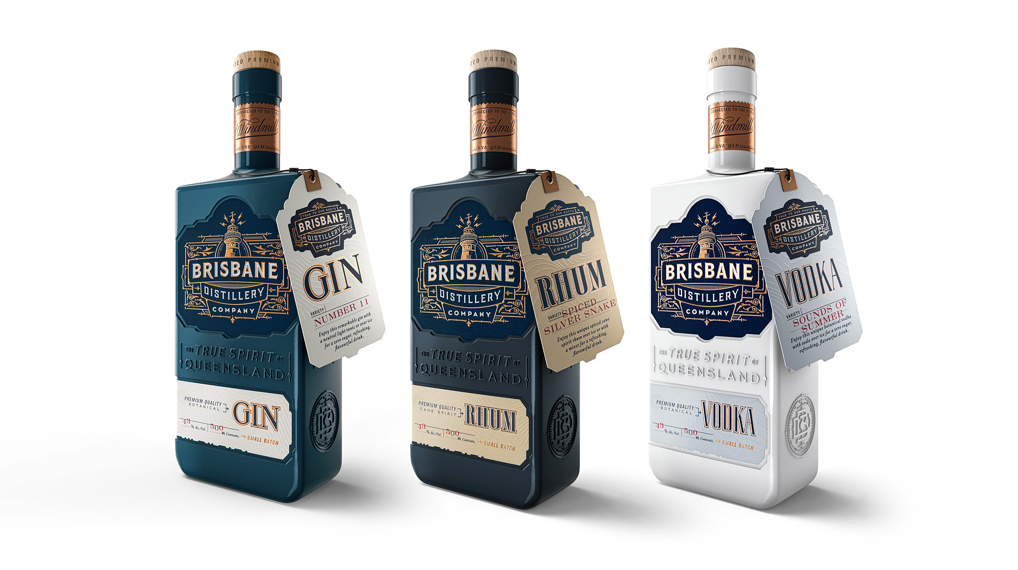 Alcohol Distillery Package Branding